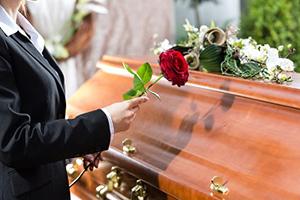 Cercueil en chêne